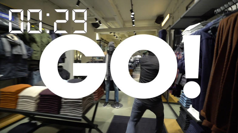 Shopping Spree video Jack & Jones and SLAM!