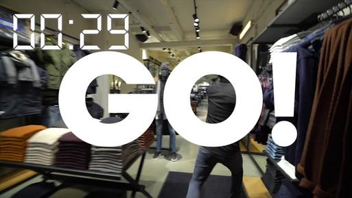 Shopping Spree video Jack & Jones / SLAM!