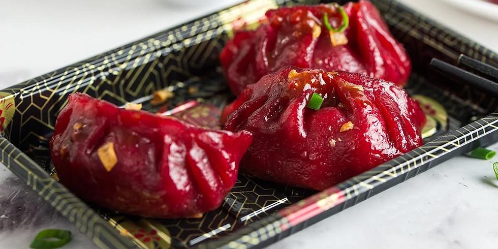 Vegan & Gluten-free Beetroot Dumplings