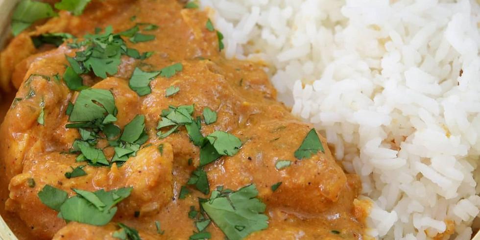 Chicken Tikka Masala & Jeera Rice