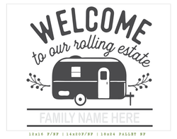 welcome to our rolling estate
