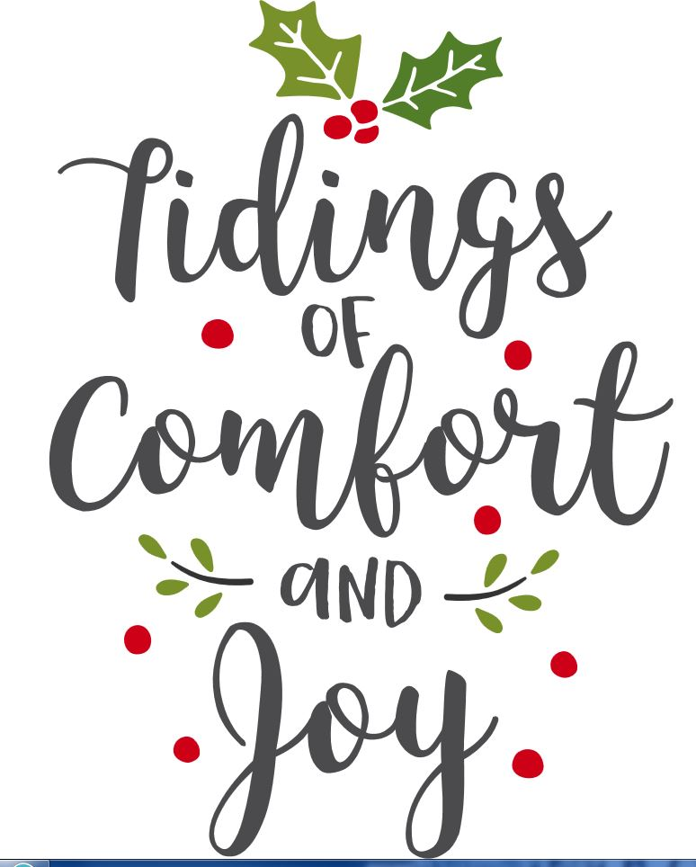Tidings comfort and Joy