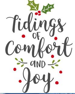 Tidings comfort and Joy