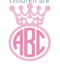 crown monogram