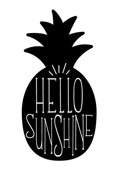 Hello Sunshine Pineapple