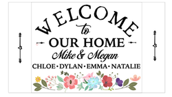 Welcome to Our Home Floral