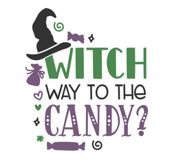 WHICH WAY TO CANDY