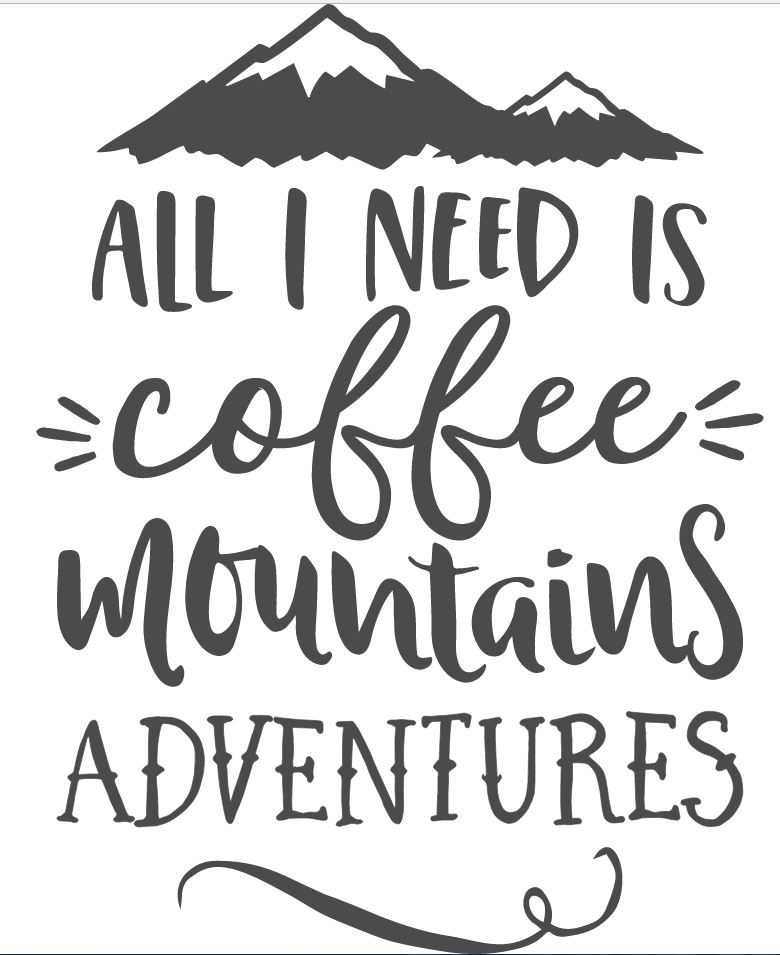 adventure Mountain and coffee