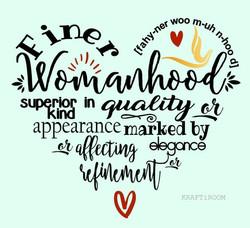 Finer Womanhood