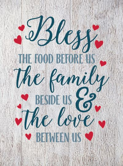 Food, Family, Love