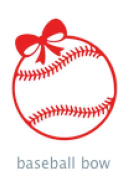 baseball bow