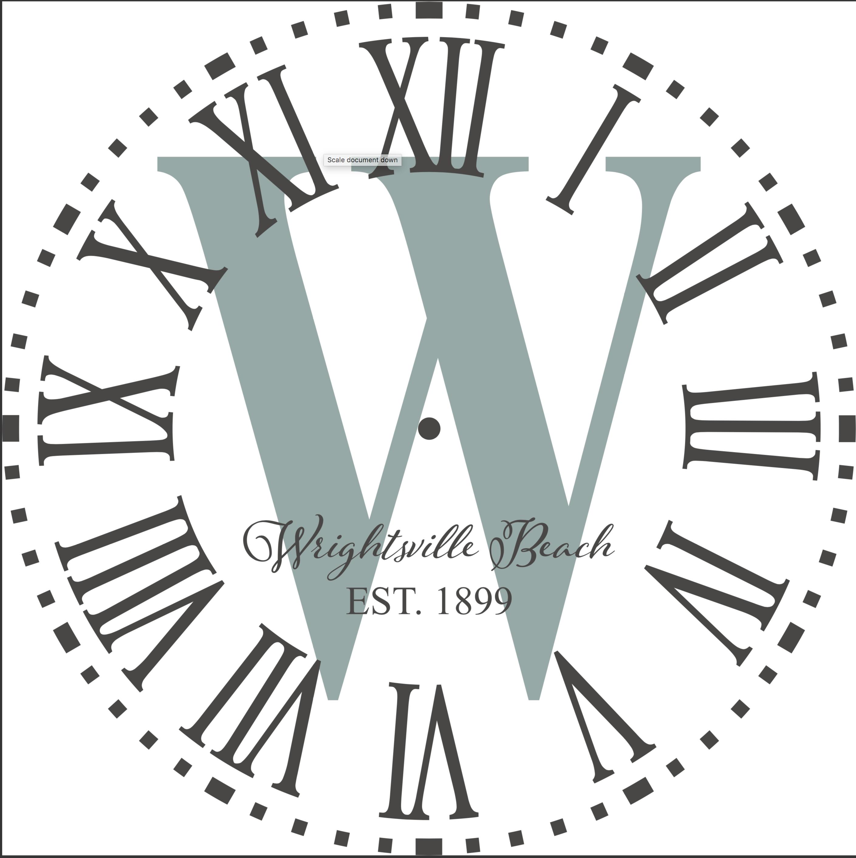 Circle Initial Clock