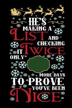 Christmas count down NICE