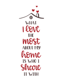 WHAT I LOVE ABOUT THE MOST (HOME)