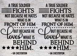 A True Soldier