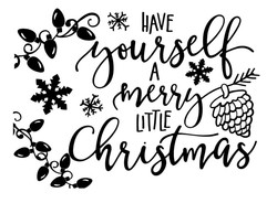 Have yourself a merry little xmas
