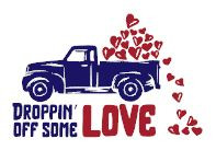 Droppin off some love