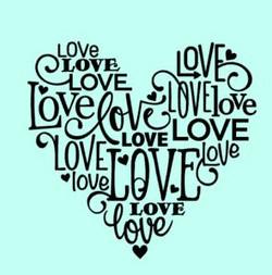 5 heart Love