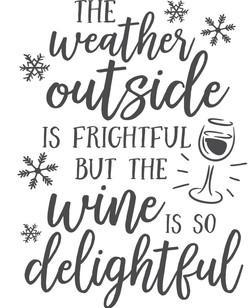 Christmas.. wine is so delighftfu