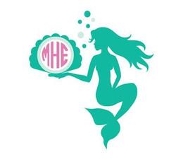 Marmaid Monogram