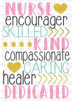 Nurse Encourage skilled..