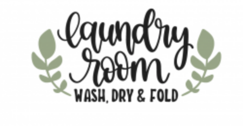 LAUNDRY ROOM WITH LAUREL LEAF