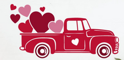 Truck of hearts