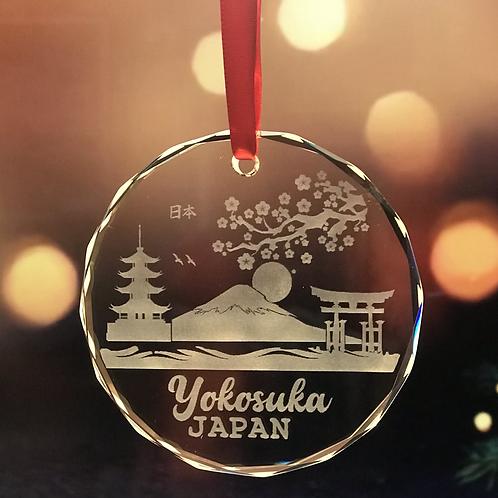 Yokosuka Japan Christmas Ornament