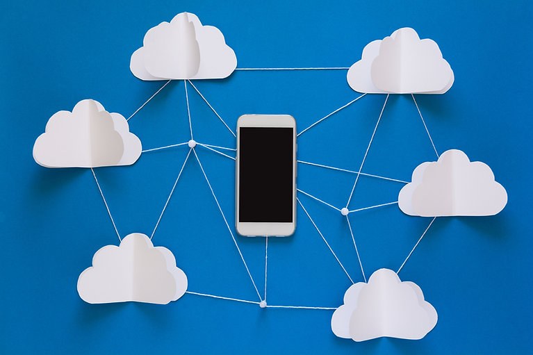 network-connection-and-cloud-storage-tec