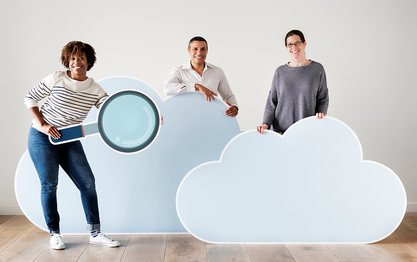 happy-people-with-cloud-and-technology-i