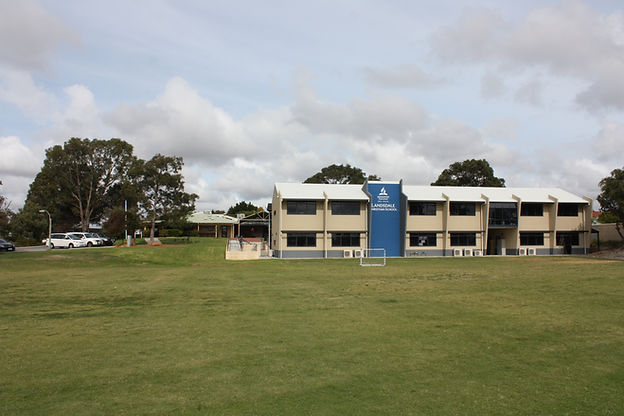 Our School building at Landsdale Christian School