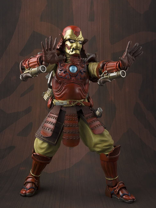 Bandai Tamashii Nations Manga Realization Samurai Iron Man Marvel Action Figure