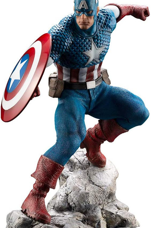 Premier Marvel Universe Captain America 1/10 Scale PVC Pre-Painted Model Kit