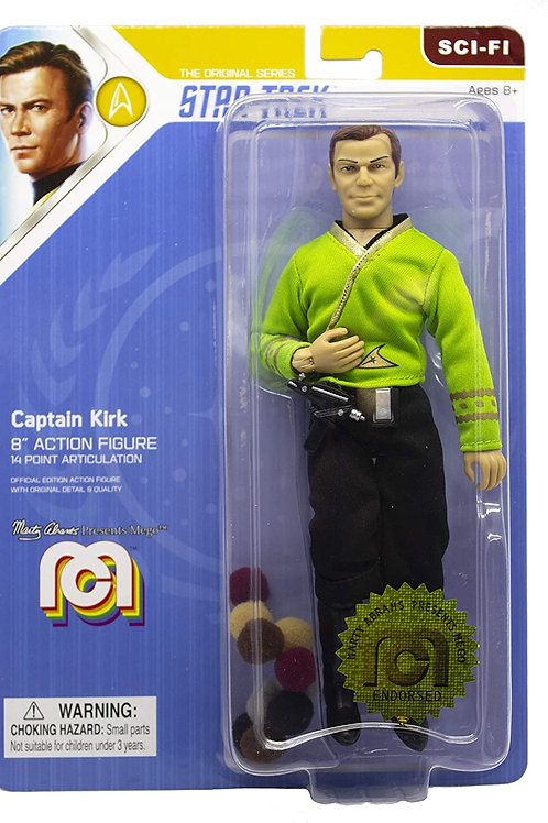 Captain Kirk with Tribbles - Mego Corporation