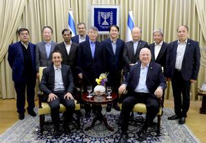 리블린 대통령 아시아-태평양 지역 대사들 환담(President Rivlin meets with ambassadors to Israel from Asia-Pacific countr