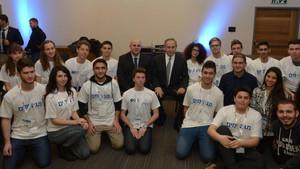 네타냐후 총리 고교 사이버 영재들과 환담(PM Netanyahu Meets with Outstanding High School Cyber Program Students)