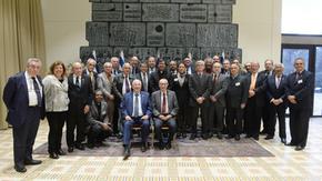 이스라엘 방문 중인 라틴 아메리카 학계 리더들 히브리 대학교와 협력약정서에 사인(Latin American Academic Leaders Visit Israel, Sign Coop