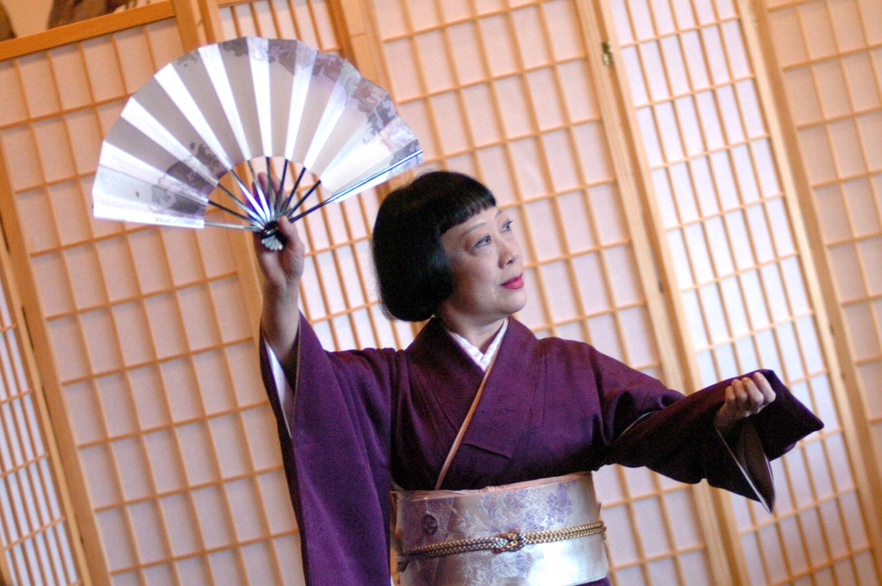 Performance photo of K.Ohnishi