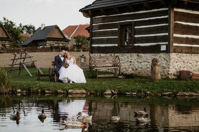 Romantické prostředí Horácké vesnice