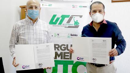 UTC y DIF Corregidora firman convenio para erradicar la violencia infantil y familiar