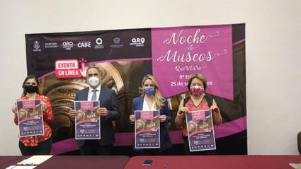 Tendrá lugar en plataformas digitales la 9ª edición de Noche de Museos el 25 de septiembre