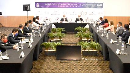Declara IEEQ el inicio del Proceso Electoral Local 2020-2021 en Querétaro