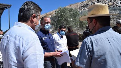 SEDESU supervisa relleno sanitario de Tequisquiapan