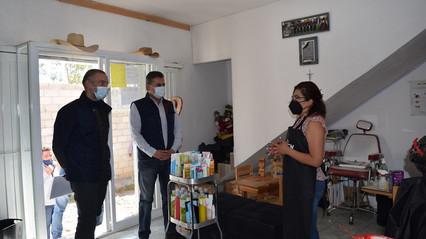 SEDESU visita proyectos apoyados en Tequisquiapan