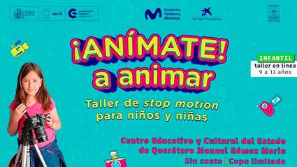 "Convoca CECEQ a participar en taller ""Anímate a animar"" en stop motion"