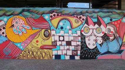 Murales de letras vivas siguen vigentes