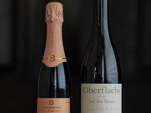 Kleines Wine Pairing (für 2 Pers) Klassisch rot
