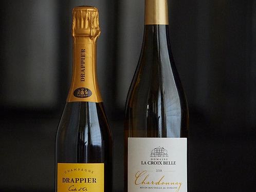 Kleines Wine Pairing (für 2 Pers) Klassisch weiss