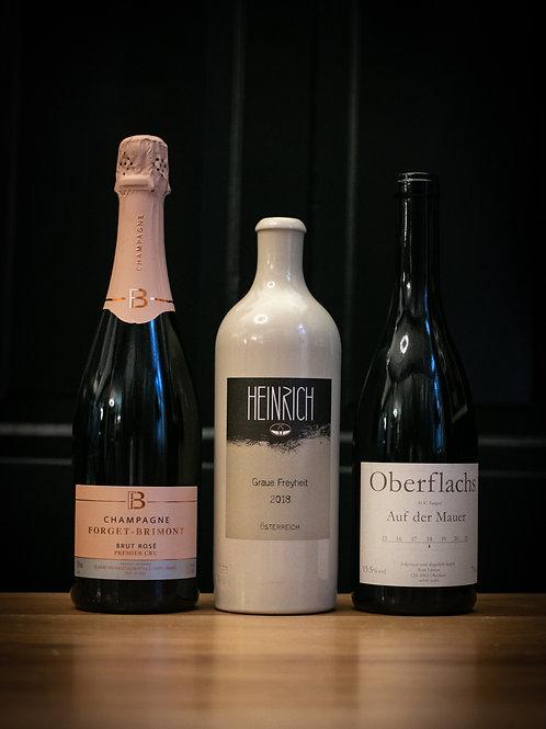 Wine Pairing (für 4 Personen) Modern