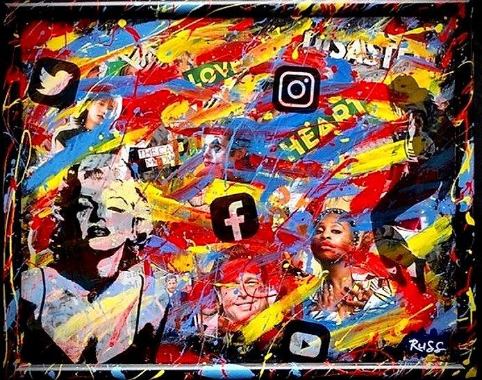Smashup Studios urban vibrant visul art Marilyn Monroe social media